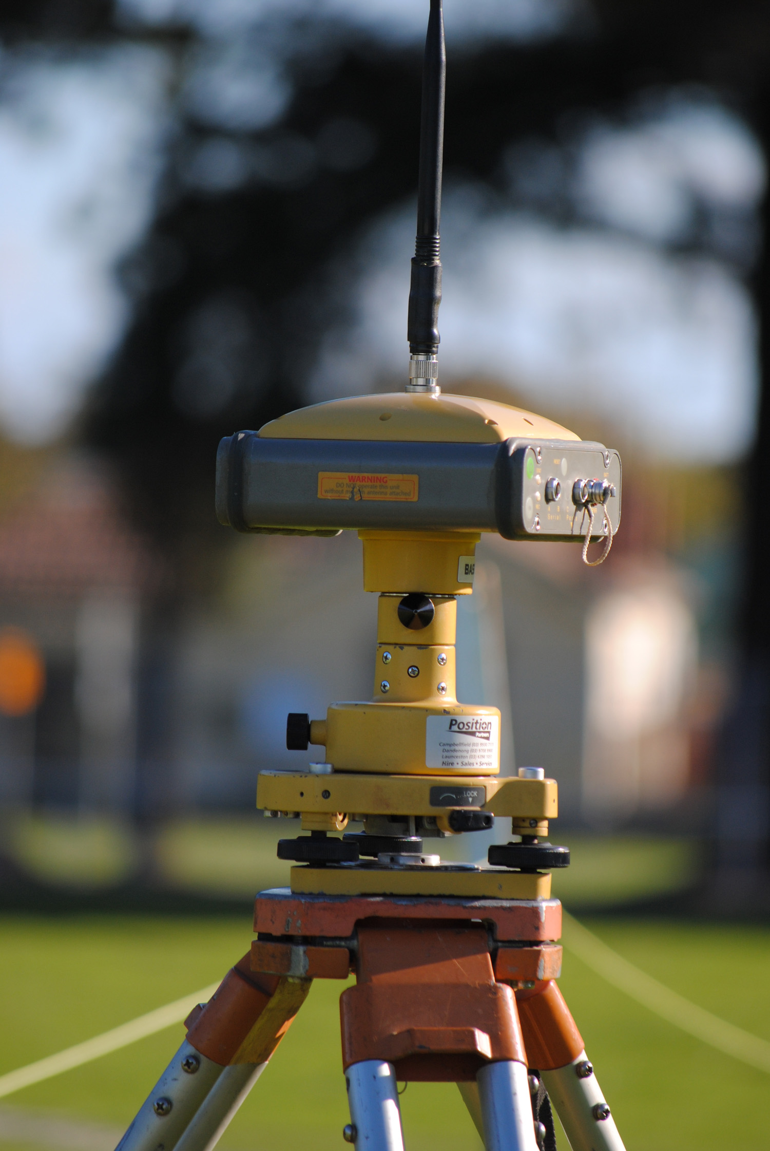 GPS surveying base 1